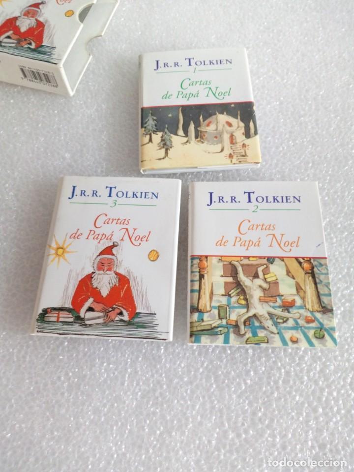 Libros de segunda mano: Cartas de Papá Noel, J. R.R. Tolkien, tres libros en estuche, miniatura, ed. Minotauro, 1994 - Foto 7 - 171488332