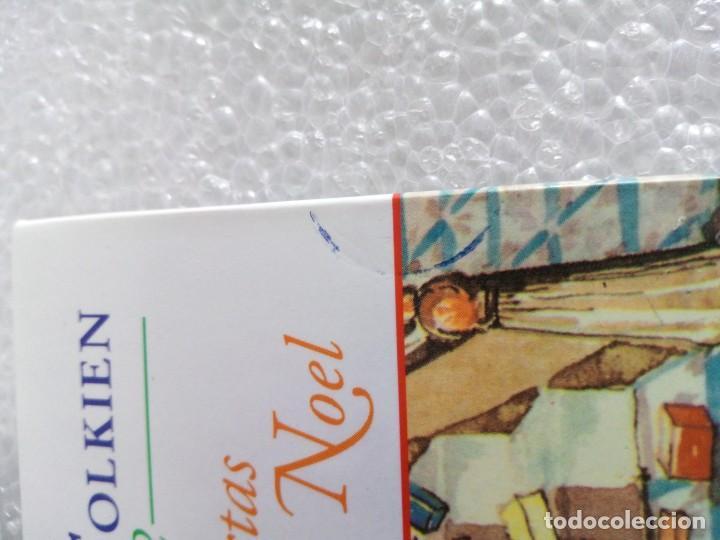 Libros de segunda mano: Cartas de Papá Noel, J. R.R. Tolkien, tres libros en estuche, miniatura, ed. Minotauro, 1994 - Foto 8 - 171488332