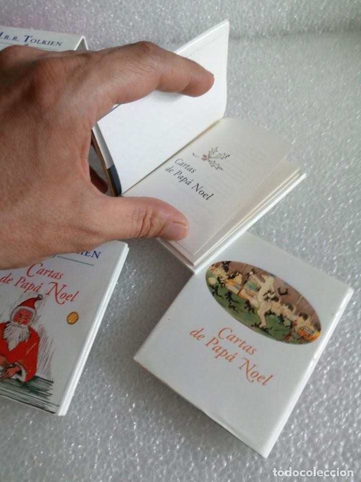 Libros de segunda mano: Cartas de Papá Noel, J. R.R. Tolkien, tres libros en estuche, miniatura, ed. Minotauro, 1994 - Foto 11 - 171488332