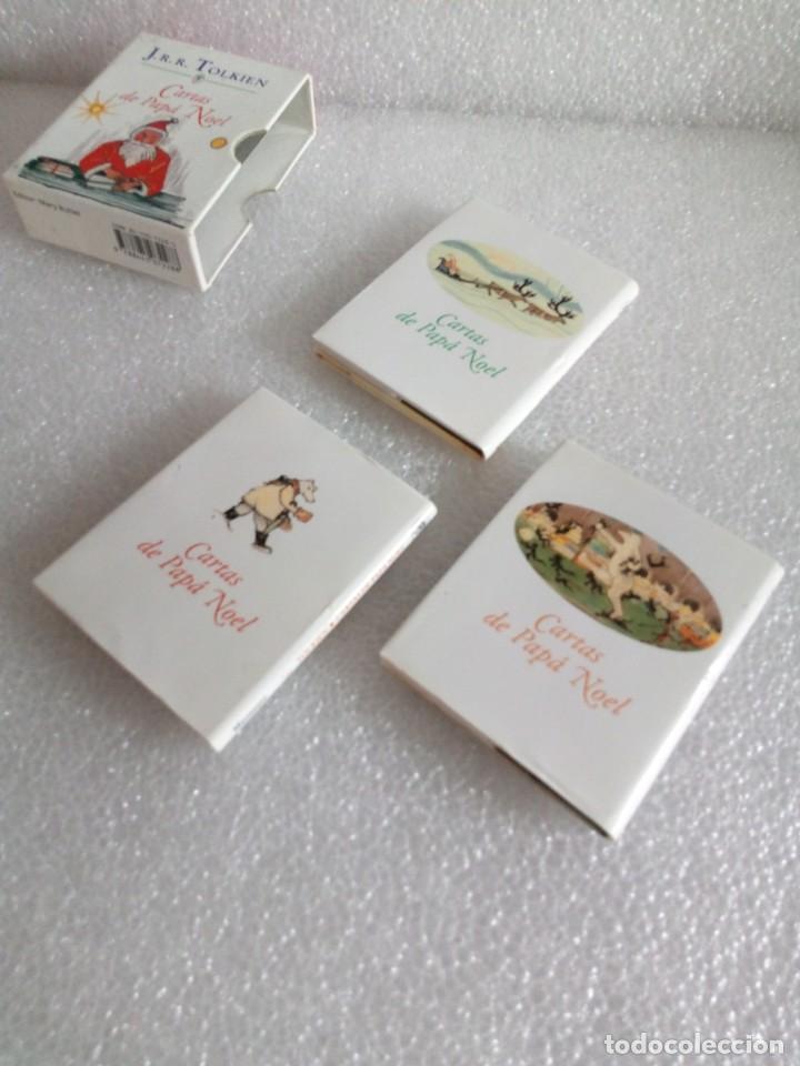 Libros de segunda mano: Cartas de Papá Noel, J. R.R. Tolkien, tres libros en estuche, miniatura, ed. Minotauro, 1994 - Foto 12 - 171488332