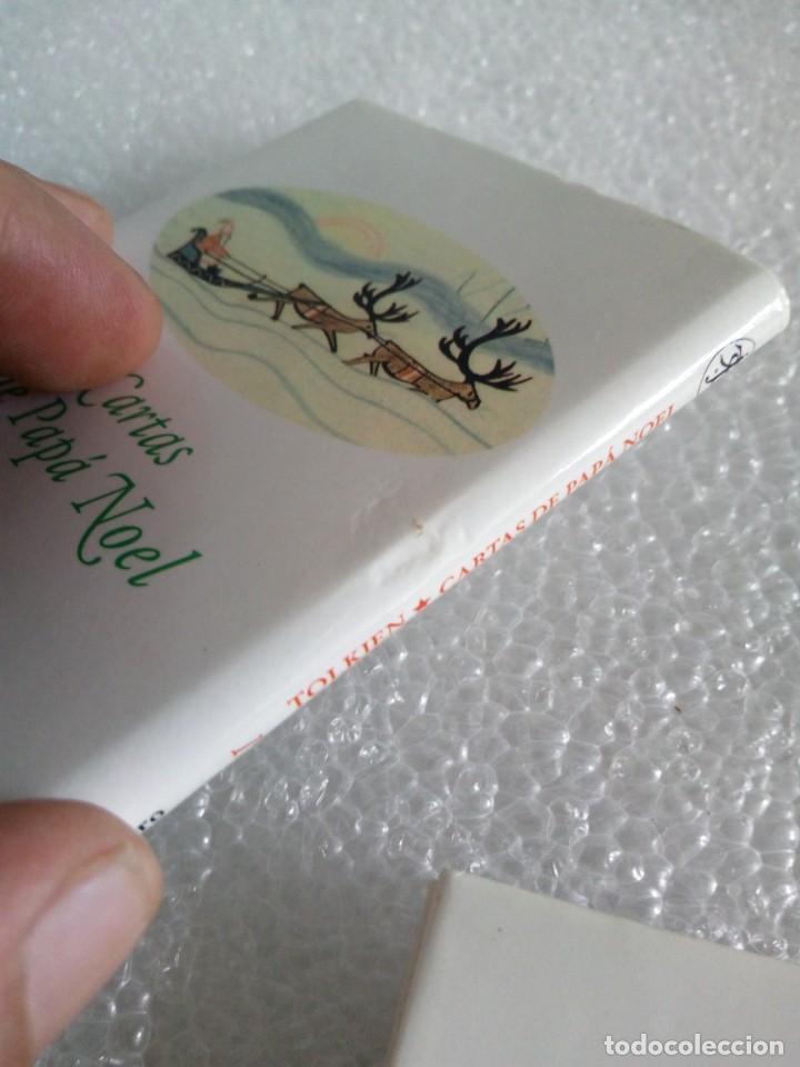 Libros de segunda mano: Cartas de Papá Noel, J. R.R. Tolkien, tres libros en estuche, miniatura, ed. Minotauro, 1994 - Foto 13 - 171488332