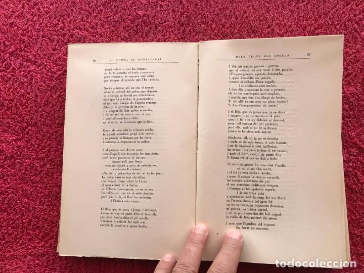 Libros de segunda mano: 1956. EL POEMA DE MONTSERRAT. JOSEP MARIA DE SEGARRA. EDITORIAL ALPHA. BARCELONA - Foto 7 - 171513224