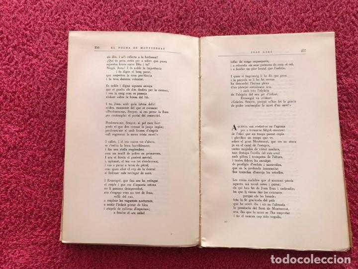 Libros de segunda mano: 1956. EL POEMA DE MONTSERRAT. JOSEP MARIA DE SEGARRA. EDITORIAL ALPHA. BARCELONA - Foto 10 - 171513224
