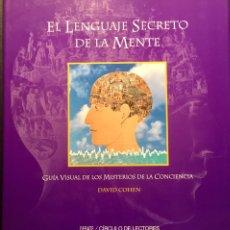 Libros de segunda mano: EL LENGUAJE SECRETO DE LA MENTE, D. COHEN. Lote 171525802