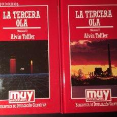 Libros de segunda mano: LA TERCERA OLA, A. TOFFLER, 2 VOL.. Lote 171530534