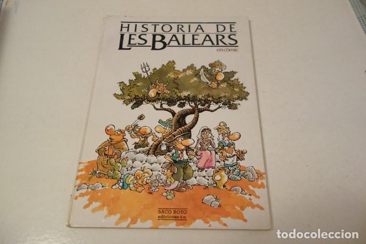 HISTÒRIA DE LES BALEARS. EN CÒMIC. (Libros de Segunda Mano - Literatura Infantil y Juvenil - Otros)
