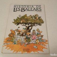 Libros de segunda mano: HISTÒRIA DE LES BALEARS. EN CÒMIC.. Lote 171545883
