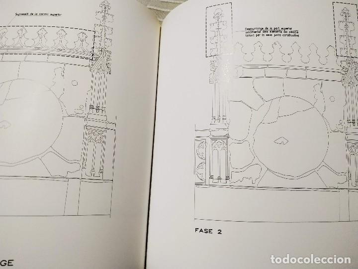 Libros de segunda mano: Façana Gótica del Palau de la Generalitat de Catalunya. Generalitat de Catalunya, MNAC,1999. - Foto 4 - 171595447