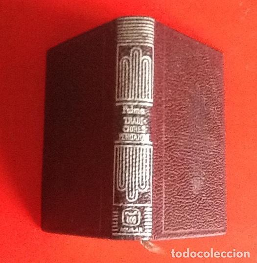 LIBRO EN MINIATURA. CRISOL. TRADICIONES PERUANA. RICARDO PALMA. 1970. ENVIO INCLUIDO. (Libros de Segunda Mano - Historia - Otros)
