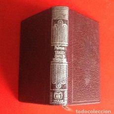 Libros de segunda mano: LIBRO EN MINIATURA. CRISOL. TRADICIONES PERUANA. RICARDO PALMA. 1970. ENVIO INCLUIDO.. Lote 171607727