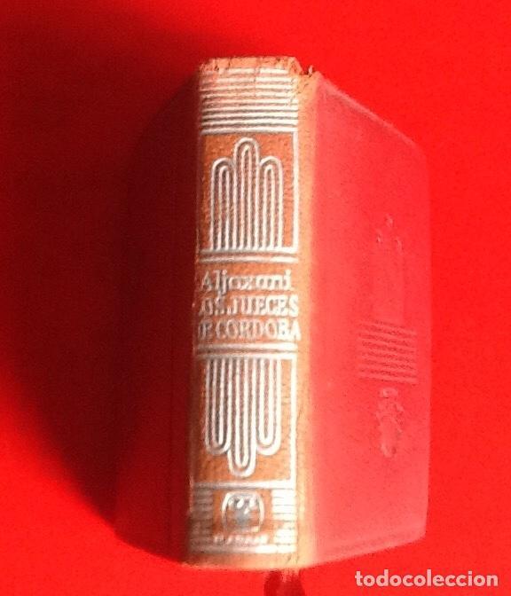 LIBRO EN MINIATURA. CRISOL. HISTORIA JUECES DE CORDOBA. 1965. ENVIO INCLUIDO. (Libros de Segunda Mano - Historia - Otros)