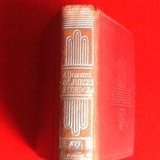 Libros de segunda mano: LIBRO EN MINIATURA. CRISOL. HISTORIA JUECES DE CORDOBA. 1965. ENVIO INCLUIDO.. Lote 171607924