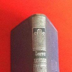 Libros de segunda mano: LIBRO EN MINIATURA. CRISOL. LARRA. ARTICULOS. 1967. ENVIO INCLUIDO.. Lote 171608337