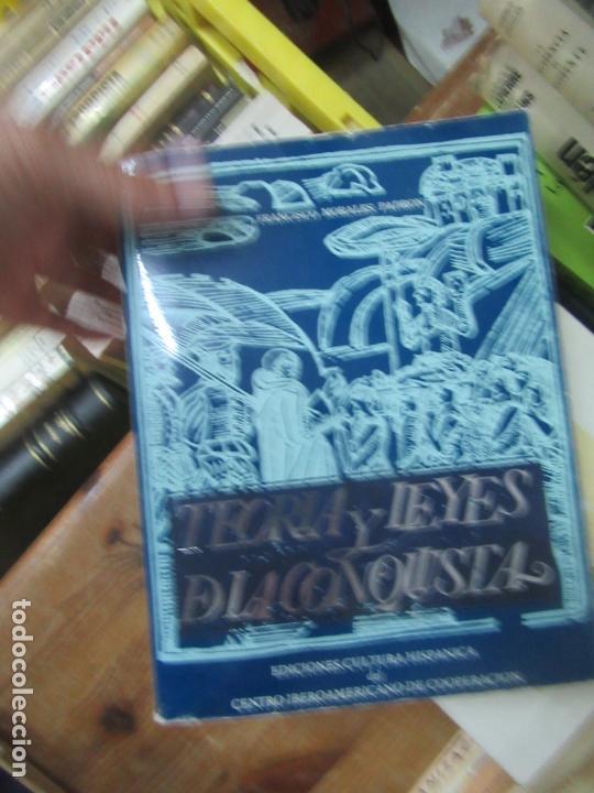 LIBRO TEORIA Y LEYES DE LA CONQUISTA FRANCISCO MORALES L-19305 (Libros de Segunda Mano - Ciencias, Manuales y Oficios - Otros)