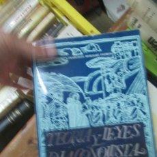 Libros de segunda mano: LIBRO TEORIA Y LEYES DE LA CONQUISTA FRANCISCO MORALES L-19305. Lote 171620559