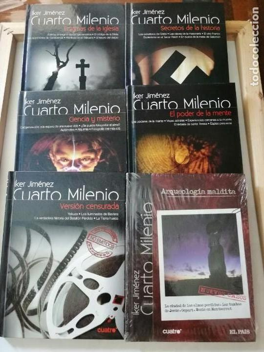 COLECCIÓN CUARTO MILENIO. IKER JIMENEZ. LIBROS MÁS DVD.