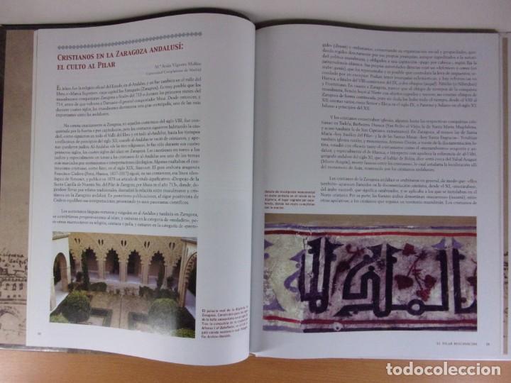 Libros de segunda mano: EL PILAR DESCONOCIDO / 2006. Heraldo de Aragón - Foto 3 - 171646072