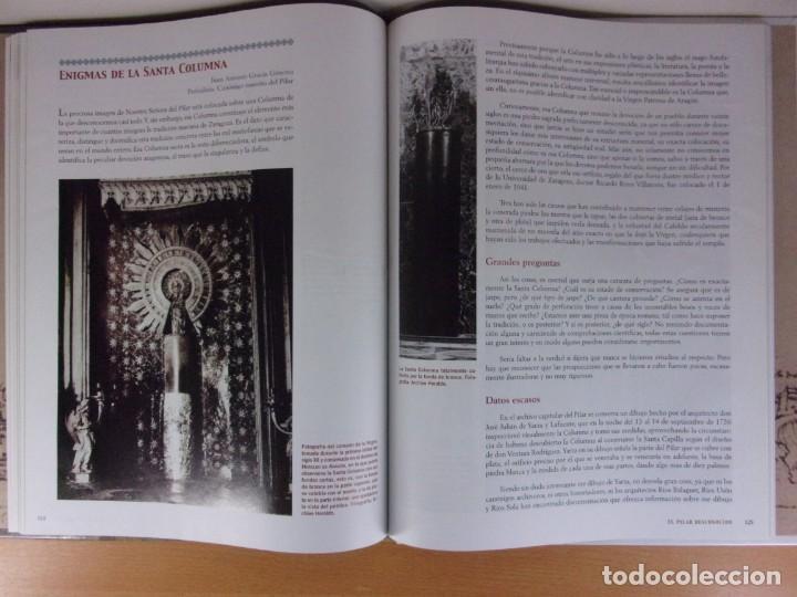 Libros de segunda mano: EL PILAR DESCONOCIDO / 2006. Heraldo de Aragón - Foto 6 - 171646072
