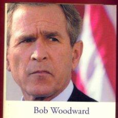 Libros de segunda mano: BUSH EN GUERRA BOB WOODWARD. ED. PENINSULA ATALAYA. PAGINAS 411 AÑO 2003 LL2885. Lote 171651552