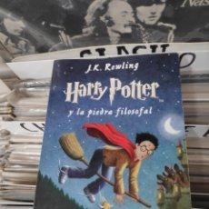 Libros de segunda mano: J.K ROWLING HARRY POTTER Y LA PIEDRA FILOSOFAL. Lote 171656448