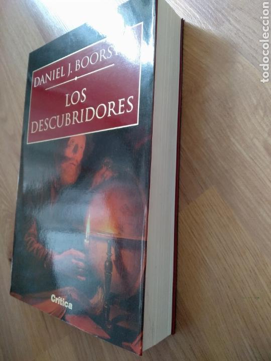 Libros de segunda mano: Los descubridores. Daniel J. Boorstin. - Foto 5 - 171665434
