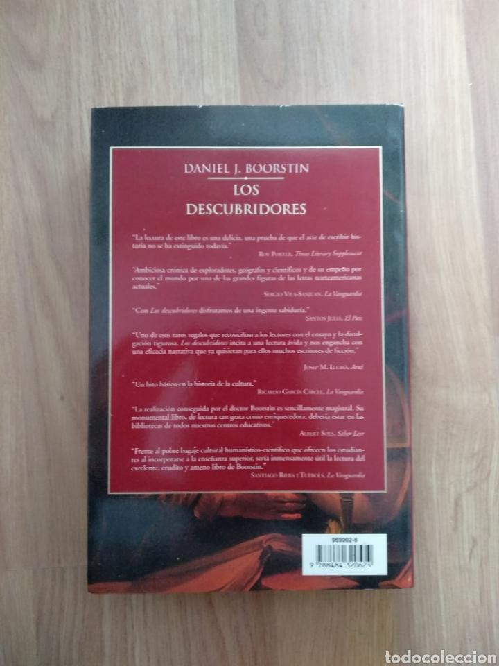 Libros de segunda mano: Los descubridores. Daniel J. Boorstin. - Foto 3 - 171665434