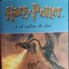 Libros de segunda mano: HARRY POTTER I EL CALZE DE FOC (CATALÁN). Lote 171674923