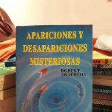 Libros de segunda mano: APARICIONES Y DESAPARICIONES MISTERIOSAS. Lote 171686518