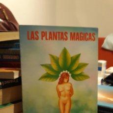 Livros em segunda mão: LAS PLANTAS MAGICAS. Lote 171687037