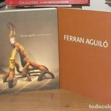 Libros de segunda mano: FERRAN AGUILÓ . ESCULTURES 1986 - 2010 . CASAL SOLLERIC. + FERRAN AGUILÓ . JOAN MELIÀ. MALLORCA. Lote 171730804