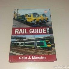 Libros de segunda mano: LIBRO. RAIL GUIDE 2010 (TRENES), ED. IAN ALLAN (ABC), COLIN J. MARDSEN. Lote 171744630