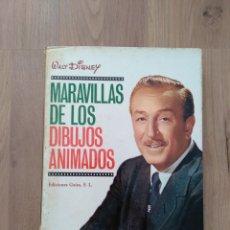 Libros de segunda mano: MARAVILLAS DE LOS DIBUJOS ANIMADOS. WALT DISNEY.. Lote 171755164