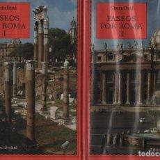 Libros de segunda mano: PASEOS POR ROMA I Y II. Lote 171774672