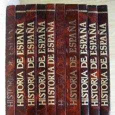 Livros em segunda mão: HISTORIA DE ESPAÑA EN COMIC. 10 TOMOS, COMPLETA. EDITORIAL GENIL.. Lote 171817557