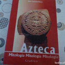 Libros de segunda mano: AZTECA, MITOLOGIA. Lote 171963179