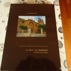 Libros de segunda mano: FUENTELCESPED LA VILLA Y SU PATRIMONIO. Lote 171963379