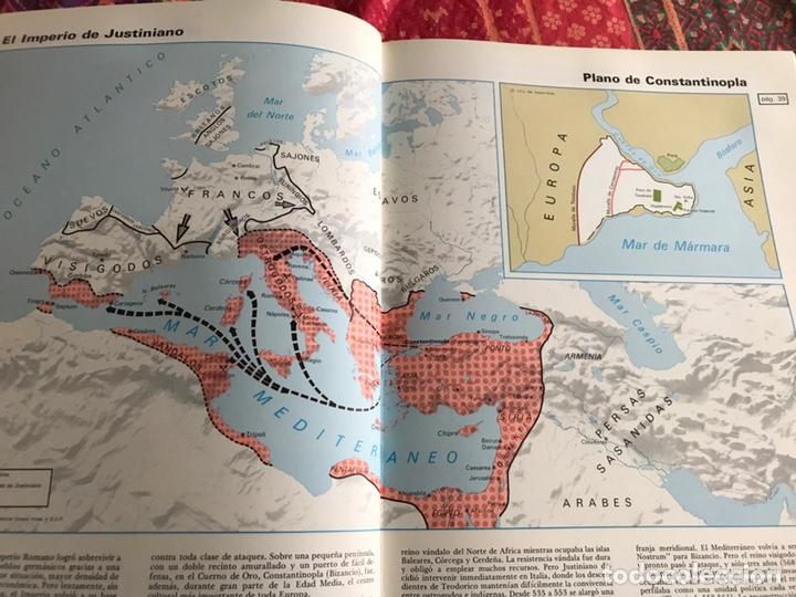 Libros de segunda mano: Atlas de historia universal y de España. 1. Edades antiguas y media. Vicens Vives - Foto 7 - 171964647