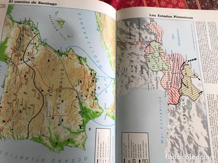 Libros de segunda mano: Atlas de historia universal y de España. 1. Edades antiguas y media. Vicens Vives - Foto 8 - 171964647