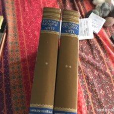 Libros de segunda mano: HISTORIA GENERAL DEL ARTE 1 Y 2. MONTANER Y SIMÓN 1.958. Lote 171964854