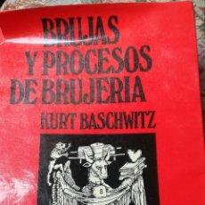 Libros de segunda mano: BRUJAS Y PROCESOS DE BRUJERÍA. Lote 171966728