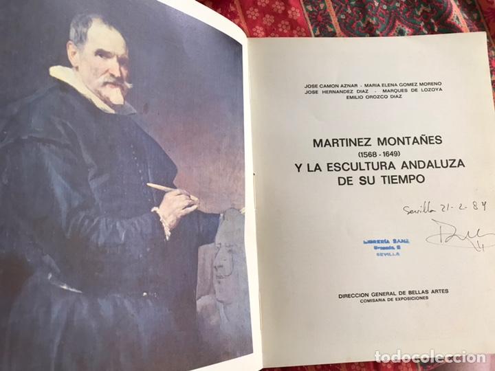 Libros de segunda mano: Martínez Montañés y la escultura andaluza de su tiempo. Emilio Orozco, Camón Aznar... - Foto 2 - 171967435