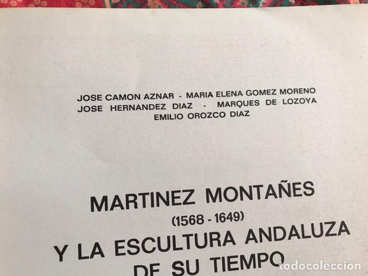 Libros de segunda mano: Martínez Montañés y la escultura andaluza de su tiempo. Emilio Orozco, Camón Aznar... - Foto 3 - 171967435