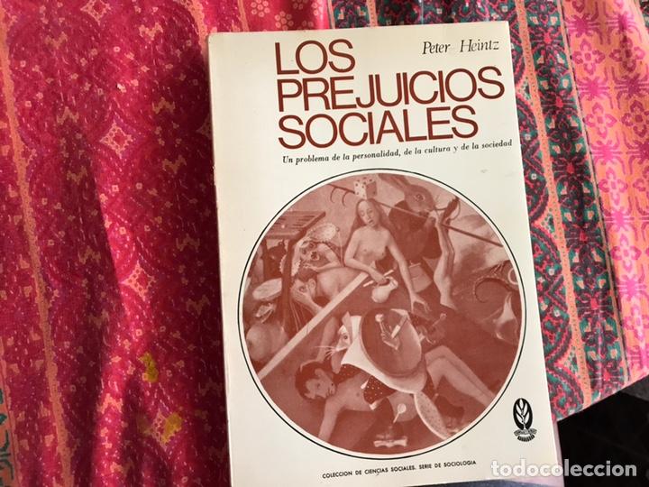 LOS PREJUICIOS SOCIALES. PETER HEINTZ (Libros de Segunda Mano - Pensamiento - Otros)