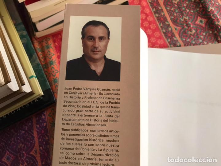 Libros de segunda mano: Vícar: un pueblo, una historia. Juan Pedro Vazquez - Foto 2 - 171968618