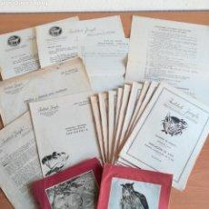 Libros de segunda mano: CURSO DE TAXIDERMIA INSTITUTO JUNGLA - COMPLETO - AÑO 1959 - CAZA DISECADO. Lote 171994130