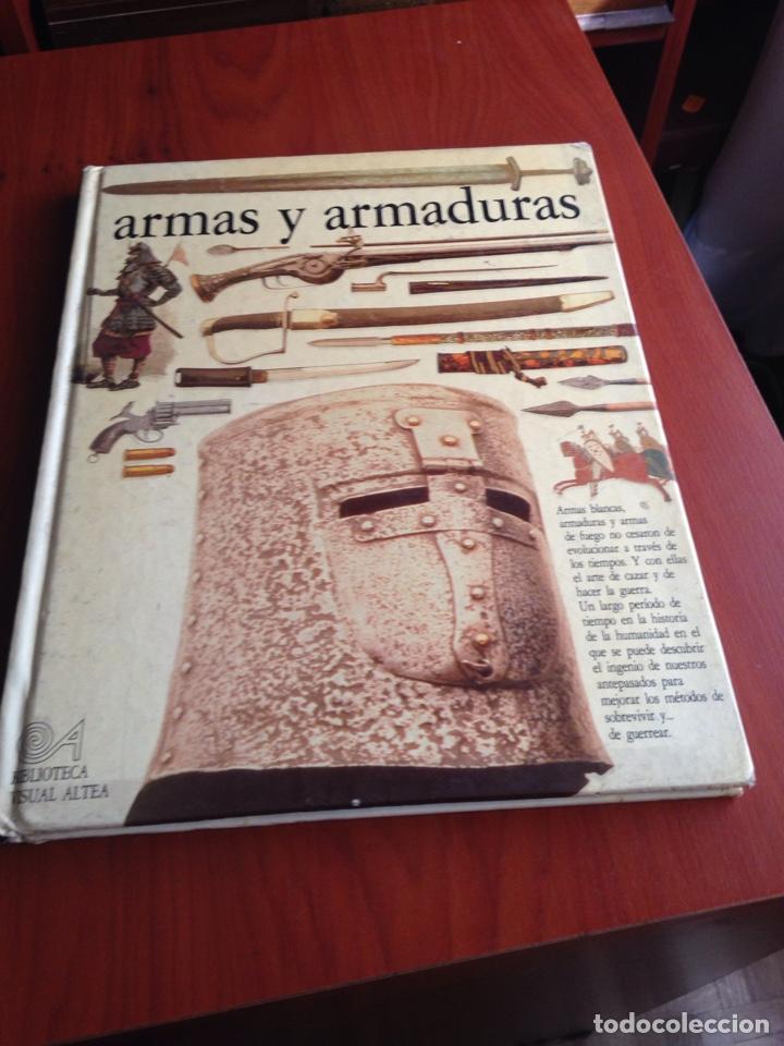 LIBRO ARMAS Y ARMADURAS (Libros de Segunda Mano - Bellas artes, ocio y coleccionismo - Otros)