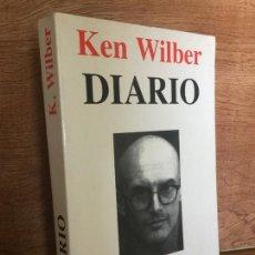 Libros de segunda mano: DIARIO - KEN WILBER - KAIROS - BUEN ESTADO. Lote 172104665