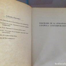 Libros de segunda mano: TORRENTE BALLESTER, PANORAMA DE LA LITERATURA ESPAÑOLA CONTEMPORANEA. Lote 172134348