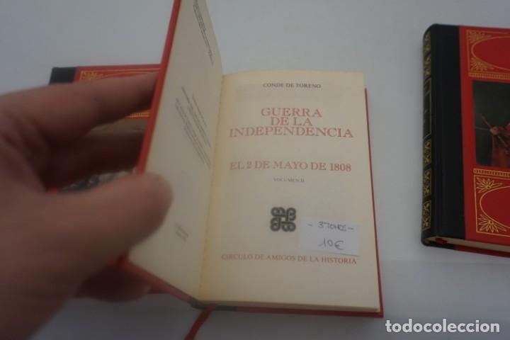 Libros de segunda mano: (4B) 3 TOMOS LA GUERRA DE LA INDEPENDENCIA EL 2 DE MAYO DE 1808 / CONDE DE TORENO 1974 - Foto 4 - 172166709