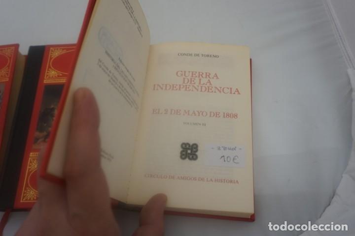 Libros de segunda mano: (4B) 3 TOMOS LA GUERRA DE LA INDEPENDENCIA EL 2 DE MAYO DE 1808 / CONDE DE TORENO 1974 - Foto 5 - 172166709